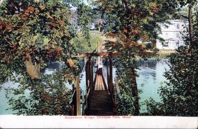 Chicopee Falls Suspension Bridge