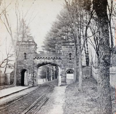 Springfield Cemetery Entry Gate